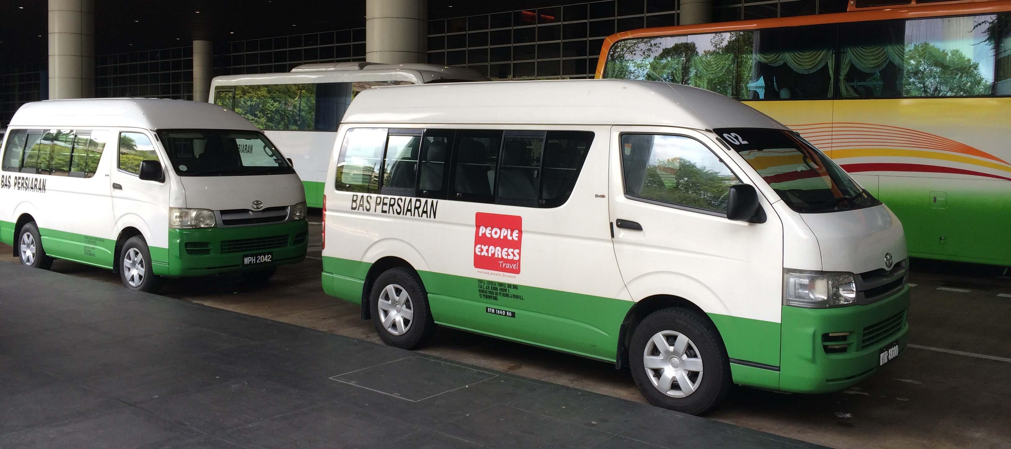 People Express Van